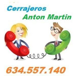 Telefono de la empresa cerrajeros Anton Martin